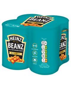 Heinz Baked Beans 4 Pack 415g x6